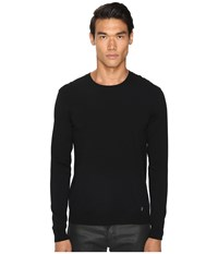 Versace Knit Pullover Sweater Black