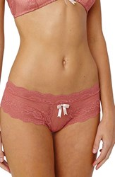 Eberjey Women's 'Anouk' Lace Hipster Briefs Canyon Rose