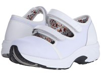 Drew Shoe Solo White Sport Mesh Women's Hook And Loop Shoes