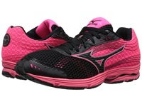 Mizuno Wave Sayonara 3 Black Neon Pink Women's Running Shoes