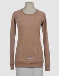 Shoeshine Topwear Sweatshirts Women Light Brown