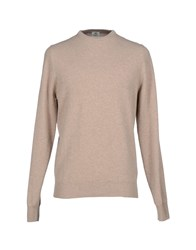 Luigi Borrelli Napoli Knitwear Jumpers Men Beige