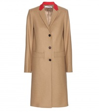 Givenchy Long Wool Coat Beige