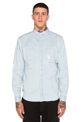 10.Deep Destructo Button Down Blue