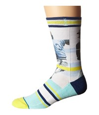 Stance Handlebar Yellow Men's Crew Cut Socks Shoes