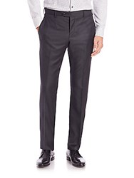 Giorgio Armani Wool Trousers Grey