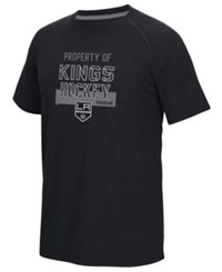 Reebok Men's Los Angeles Kings Common Property Supreme T Shirt Heather Charcoal