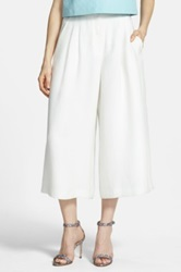 Chelsea 28 Pleated Culottes White