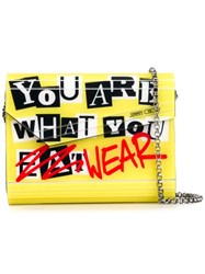 Jimmy Choo 'Candy' Clutch Yellow And Orange