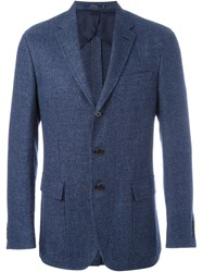 Polo Ralph Lauren Fitted Blazer Blue