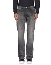 Just Cavalli Denim Denim Trousers Men Grey