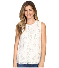 Tommy Bahama Bell Leaves Tank Lace Women's Sleeveless Multi