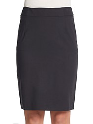Theory Modern Suit Pencil Skirt Black