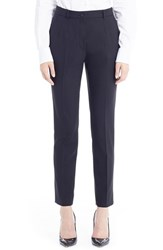 Women's Dolce And Gabbana Stretch Wool Ankle Pants