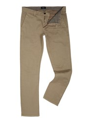Gant Comfort Fit Slim Chino Stone