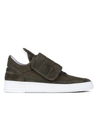 Filling Pieces Low Top Padded Velcro Sneakers