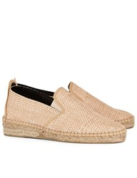 Prism Natural Raffia Slip On Espadrilles Neutrals