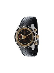 Tudor 'Grantour Fly Back' Analog Watch Black