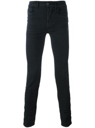 Diesel Black Gold Super Skinny Jeans Black