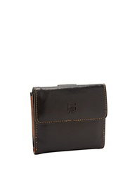 Tusk Leather French Purse Black
