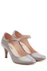Repetto Patent Leather Pumps Grey