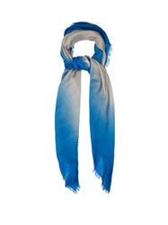 Bottega Veneta Degrade Wool Scarf Blue Multi
