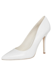 Buffalo High Heels Silk White