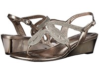 Adrianna Papell Carli Gunmetal Women's Wedge Shoes Gray