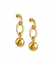 Gurhan Balloon Drop Ball Earrings In 24K Gold