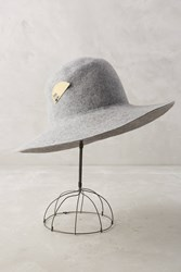 Anthropologie Newell Sun Hat Grey