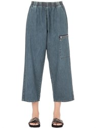 Maison Martin Margiela Stone Washed Greencast Denim Jeans