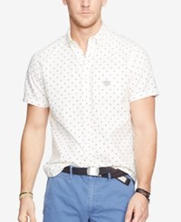 Denim And Supply Ralph Lauren Men's One Pocket Star Shirt White Star