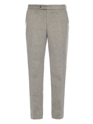 Tomorrowland Double Faced Wool Trousers