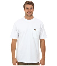 Pendleton S S Deschutes Pocket T Shirt White Men's Short Sleeve Pullover