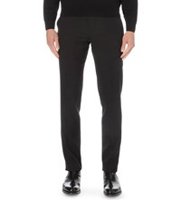 Paul Smith Soho Fit Cotton Travel Trousers Black