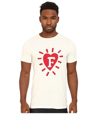 French Connection F In Heart Cuba White Men's Clothing