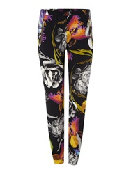 Biba Orchid Printed Slouch Trousers Multi Coloured