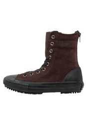 Converse Chuck Taylor All Star Laceup Boots Burnt Umber Black Natural Dark Brown