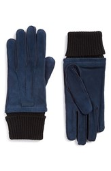 Burberry Men's Suede Gloves