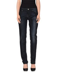 Acht Denim Denim Trousers Women Blue