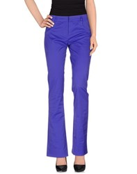 Gai Mattiolo Trousers Casual Trousers Women Purple