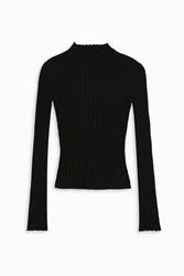Elizabeth And James Women S Lenny Ribbed Top Boutique1 Black