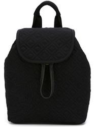 Tory Burch Logo Quilted Backpack