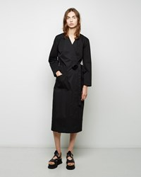 Maison Martin Margiela Brushed Cotton Wrap Dress