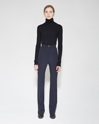 Acne Studios Myla Trousers Navy