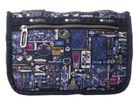 Le Sport Sac Everyday Cosmetic Case Out And About Black Cosmetic Case Multi