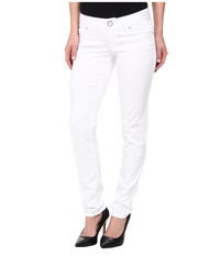 Lilly Pulitzer Worth Skinny Pant Resort White Women's Casual Pants