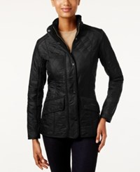 Barbour Cavalry Polarquilt Quilted Utility Jacket Black