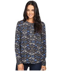 Kavu Charlie Tribal Storm Women's Clothing Blue