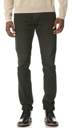 Rag And Bone Standard Issue Standard Issue Fit 2 Canvas Jeans Vintage Dark Olive